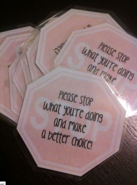 Instead of yelling- hand a stop sign. My class wouldn't need the words (since most can't read)
