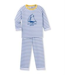 Pyjama garçon en tubique rayé