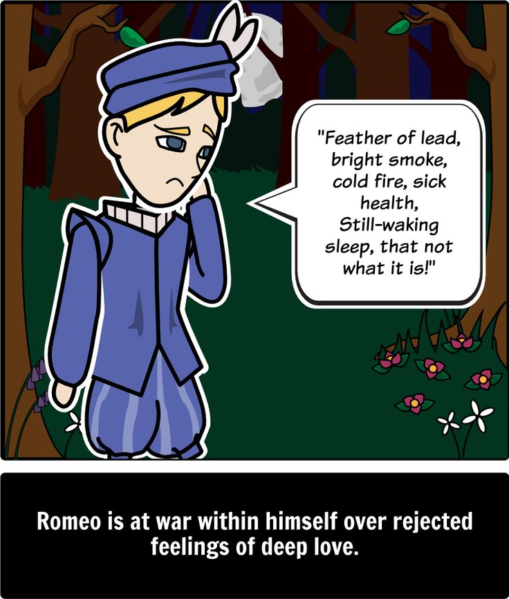 conflict romeo and juliet Characters need to go through conflict, before there can be a happy ending or  the happy ending won't mean anything the central conflict in romeo and juliet  is.