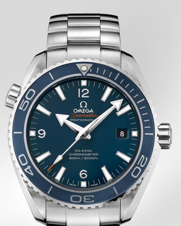 OMEGA Watches: Seamaster Planet Ocean Big Size - Titanium on titanium, omegawatches.com