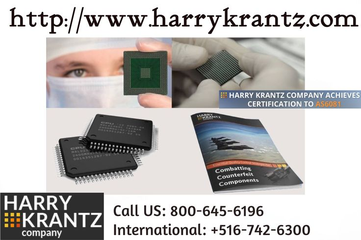 The Harry Krantz Company provides same day shipping from the largest in-stock inventory of qualified hard to find, obsolete and DMS electronic components with over 900,000 individual line items of electronic components and related product, stored and maintained in an ESD-protected facility. http://goo.gl/txWeFH