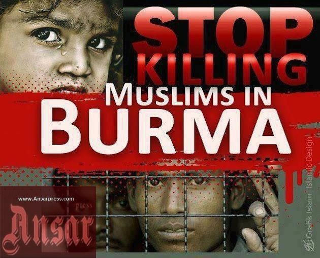 http://ansarpress.com/english/8428 Stop Killing the #Burmese #Muslims! /photo and VIDEO