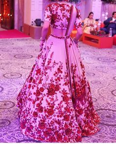 Hand embroidery # Sabyasachi bride # Indian fashion.# lehenga
