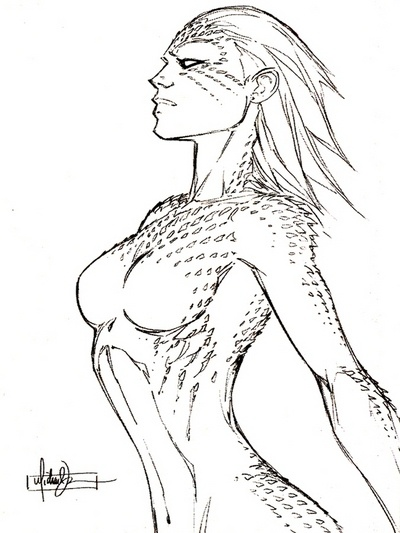 Mystique by Michael Turner  Auction your comics on http://www.comicbazaar.co.uk