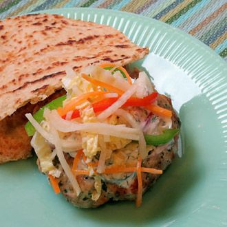 Burgers middle eastern chicken