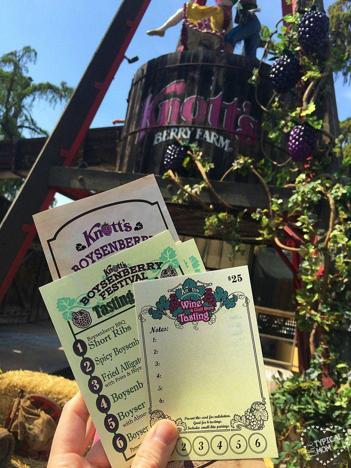 Knotts Berry Farm Boysenberry Festival!!