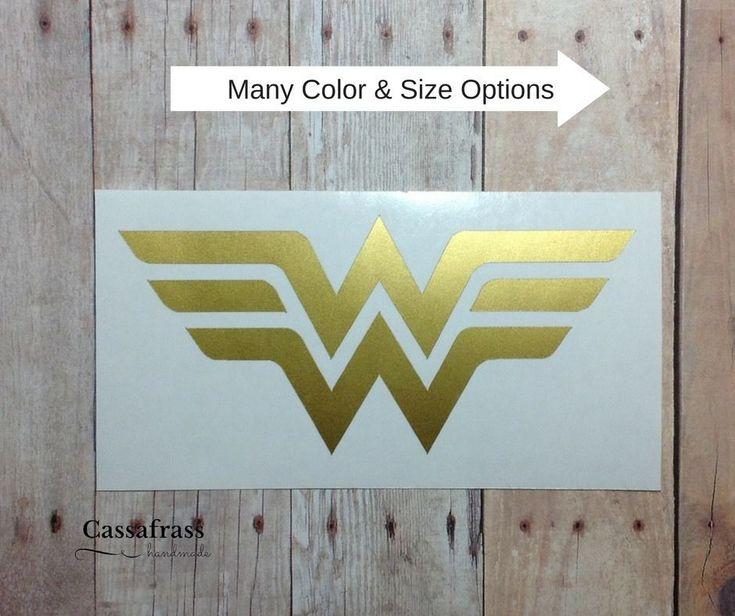 Wonder Woman Logo Vinyl Car Decal Sticker | Laptop Phone Tumbler Window  | eBay