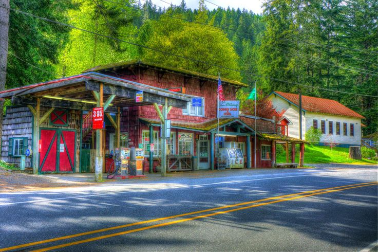 Lilliwaup Store  Highway 101 Hood Canal by gsromjue
