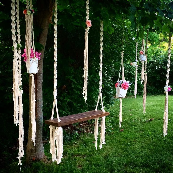 1000 images about macrame weaving on pinterest for Diy macrame baby swing