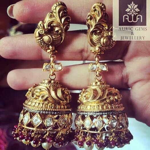 Lovely jhumkas!!!