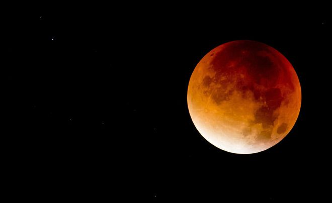 Планета Земля и Человек: Лунное затмение стало доказательством глобального ...
