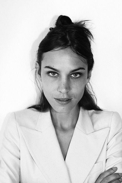 Alexa Chung by Eric Chakeen for Lucky Mag, NYC 2014
