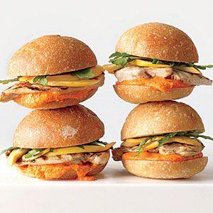 100 Super Sandwiches | Cashew Chicken Salad Sandwiches | CookingLight.com