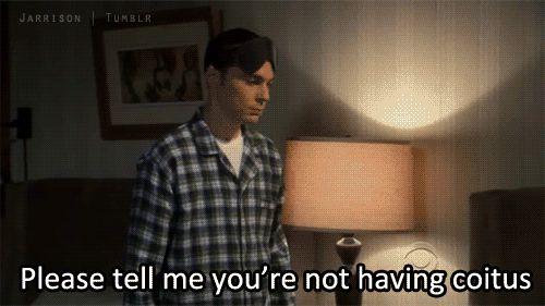 Sheldon coitous quotes
