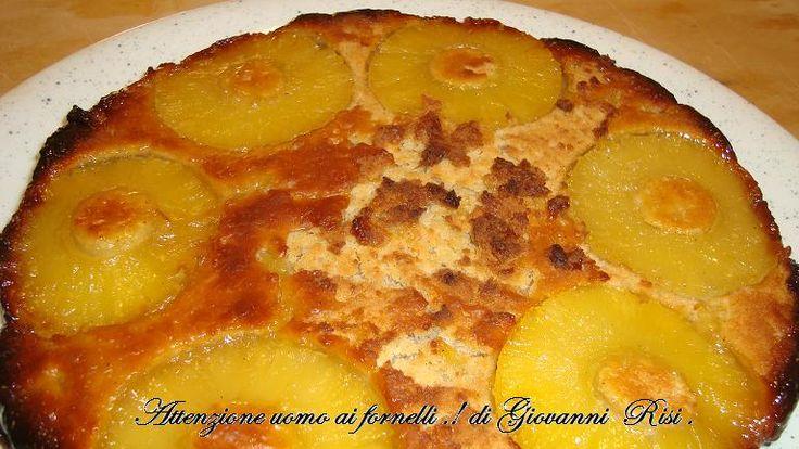 Tarte Tatin di ananas cannella e caramello