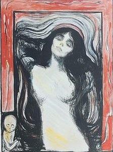 Edvard Munch - Madonna