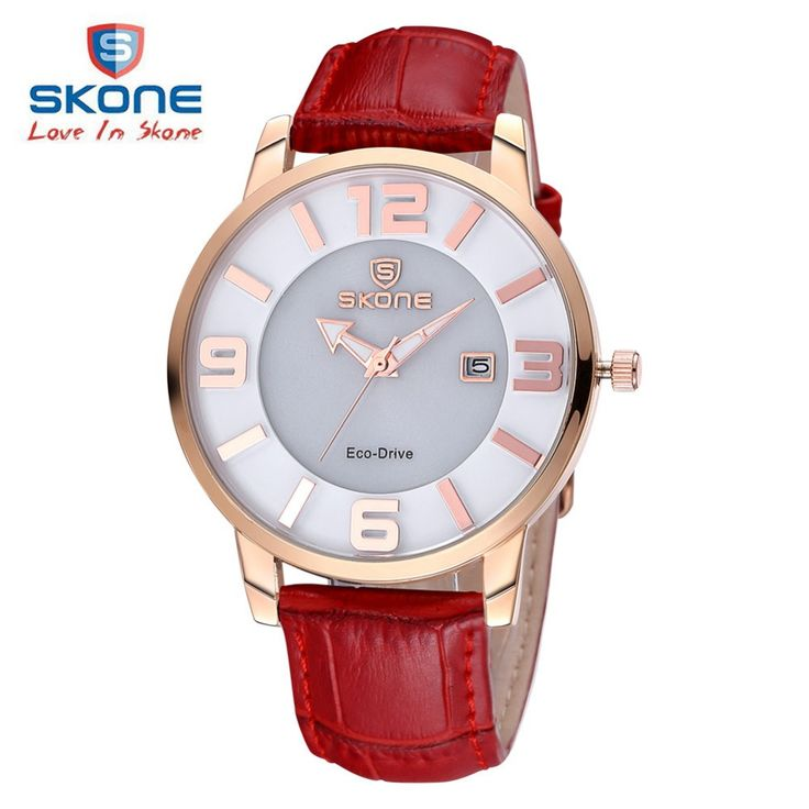 cc- SKONE Dress Women Watches Fashion Top Brand Luxury 3D-figures Quartz Watch Ladies Leather Eco-drive Solar Watch Relogio Feminino //Price: $69.62 & FREE Shipping //     #hashtag4