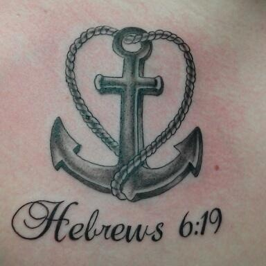 My anchor tattoo. #anchor #cross #heart #tattoo love this one @Dawn Cameron-Hollyer Cameron-Hollyer Whitby