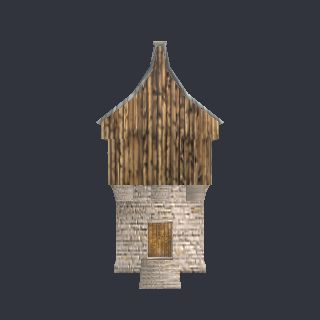 3d Model Medievaltower 3ds View Thread The Game Creators Forum 363 Vertices