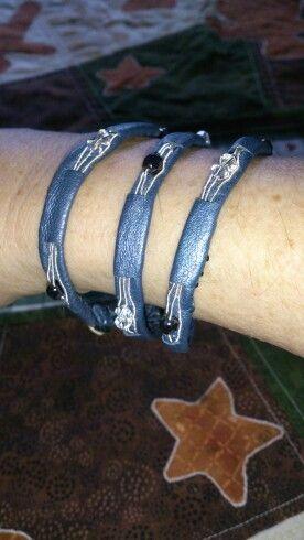 Tenn skinn  Armband