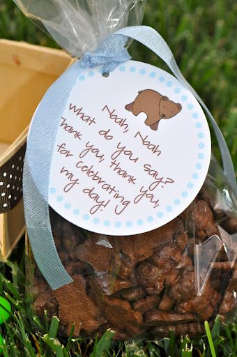 Koehler Family: brown bear, brown bear, what do you see?????? - treat bags for Brown Bear party