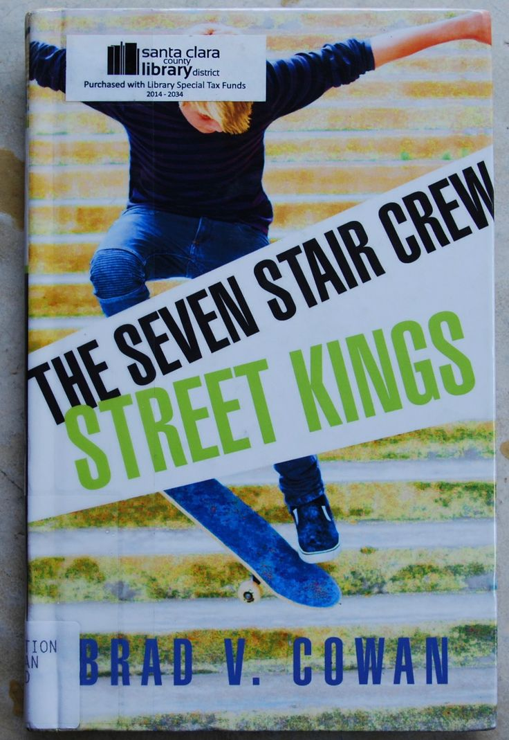 This Book For Kids Featuring Skateboarding Follows Cale As He Tries To Join  The Seven Stairs