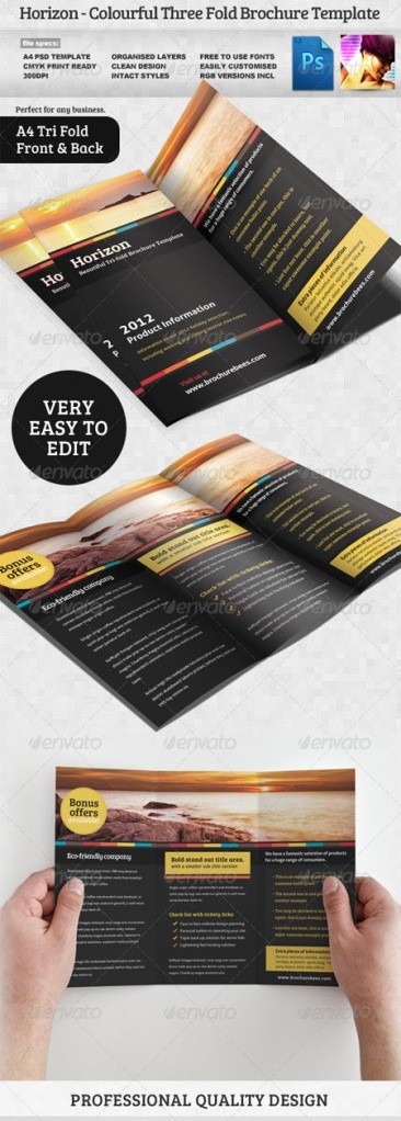 32 best Tri fold Brochures images on Pinterest Brochure template - advertising brochure template