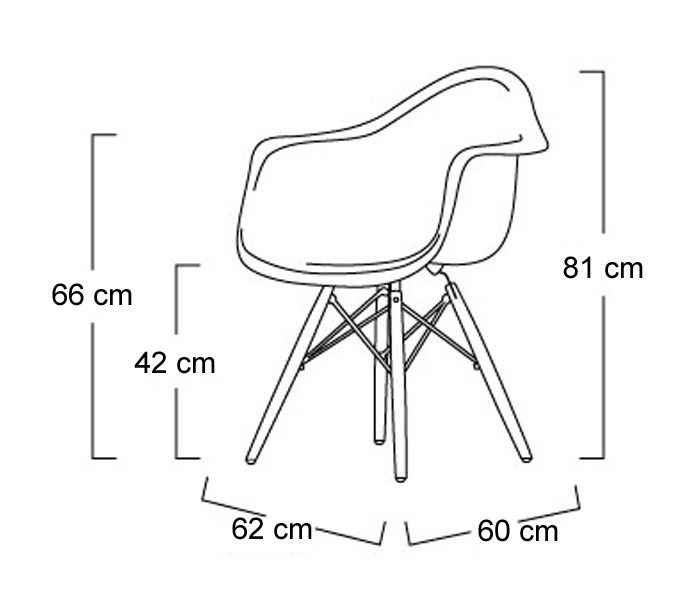 eames daw dimensions seating pinterest trees eames and