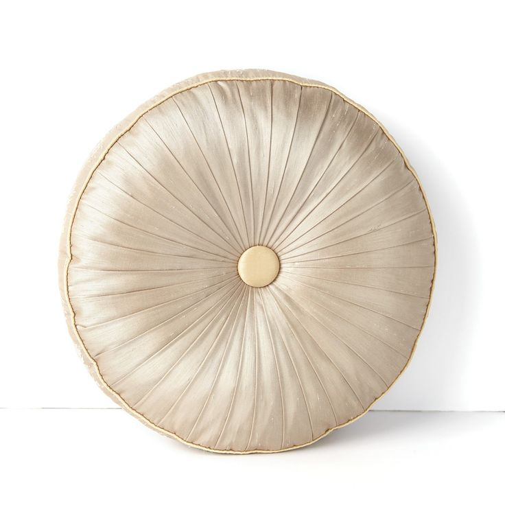 Round Throw Pillow Ideas : Waterford Kelsey Round Decorative Pillow Pillows Pinterest Pillows, Romantic shabby chic ...