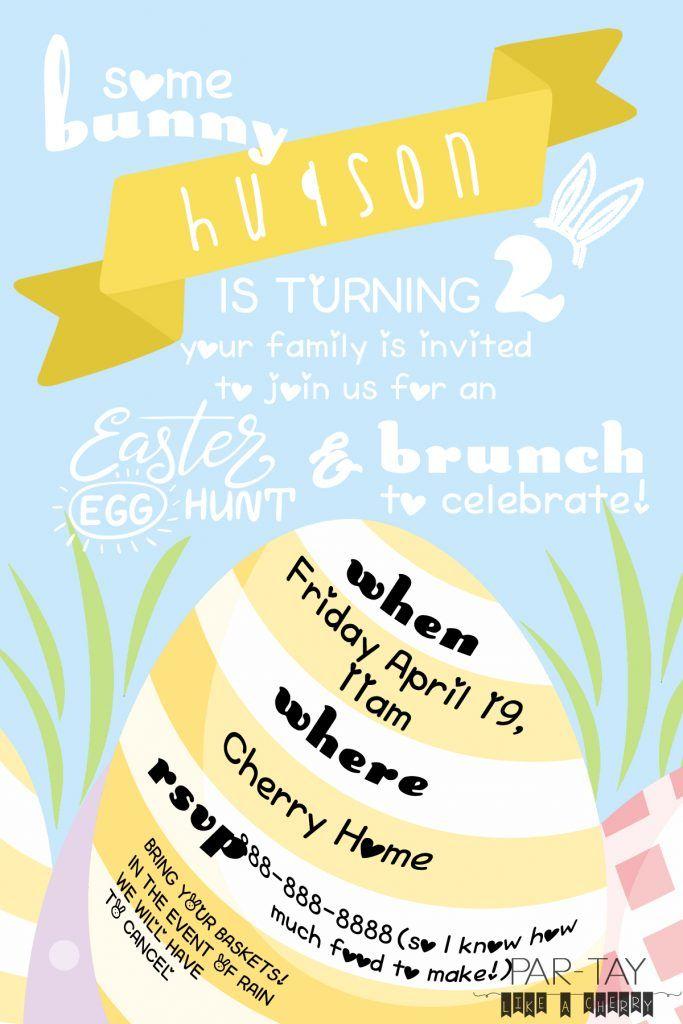 Easter Egg Hunt Party Printables