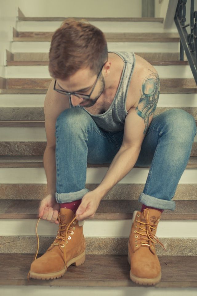 Look from Rodrigo Turra. #timberland #boots #style