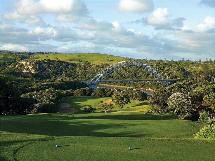 Wild Coast Sun Country Club - 6th hole locally known as Bent Wallet