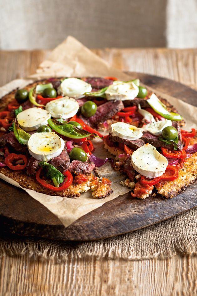 Meat feast pizza with cauliflower crust – Woman Magazine