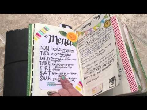 Midori life planning using monthly planning books - perfect! 1 1/4W x 1 1/2L squares for MO2P