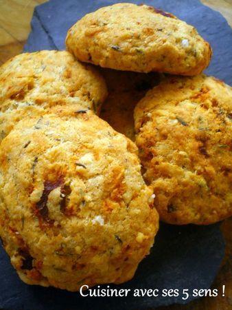 Cookies parmesan / tomates séchées