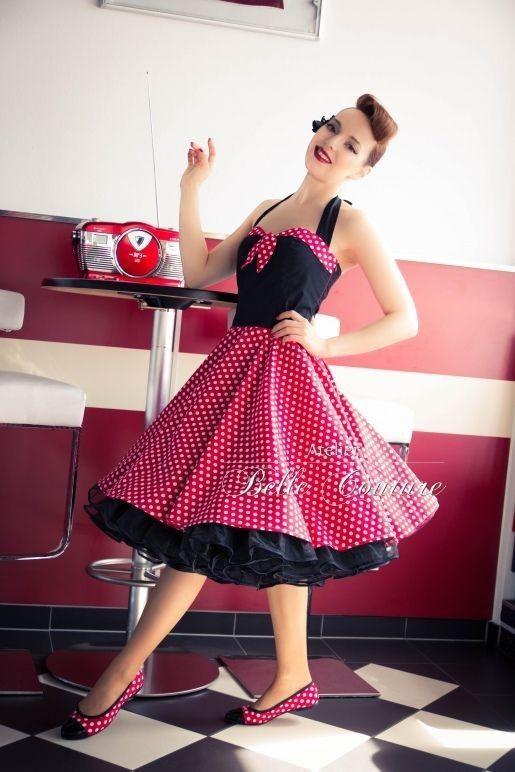 3fb42fc416 Pin up dress Moda Rockabilly