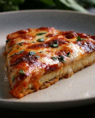Restaurant Vs Homemade Chicken Parm Pizza Food And Desert Recipes