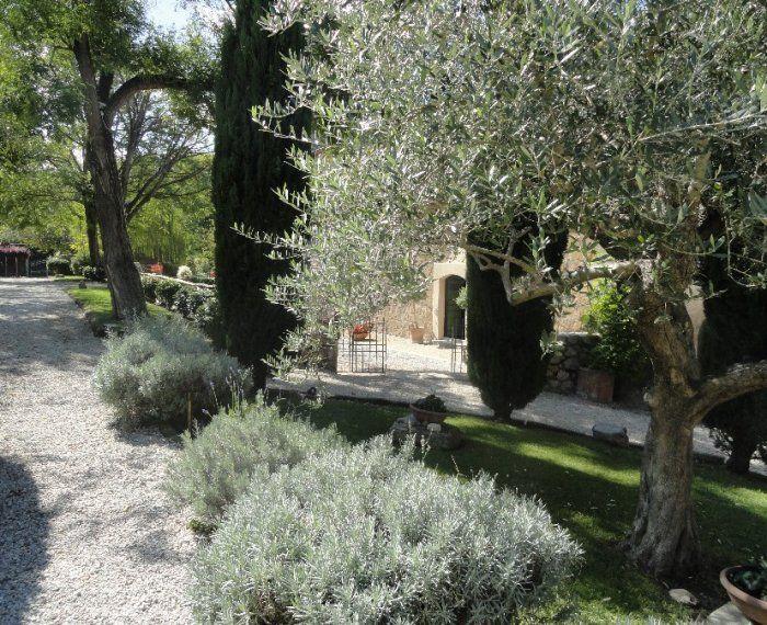 esterni verde abbazia  ponzano romano