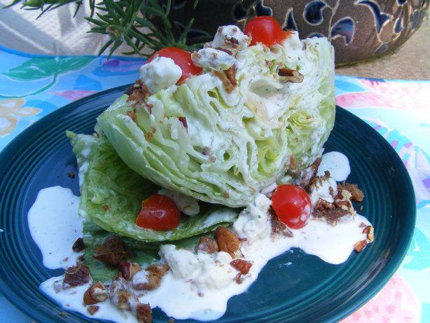 Paula Deen Wedge Salad