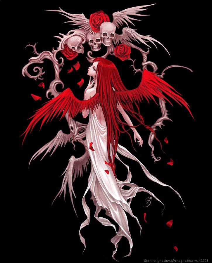Anna Ignatieva:::  Magnetica Gallery, Battle / Trick Fairy for Private Label T-Shirt Co.