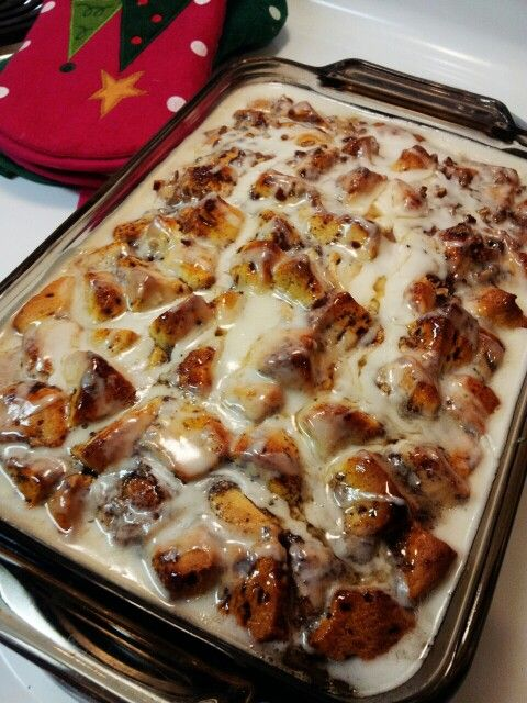 Cinnamon Roll Bake