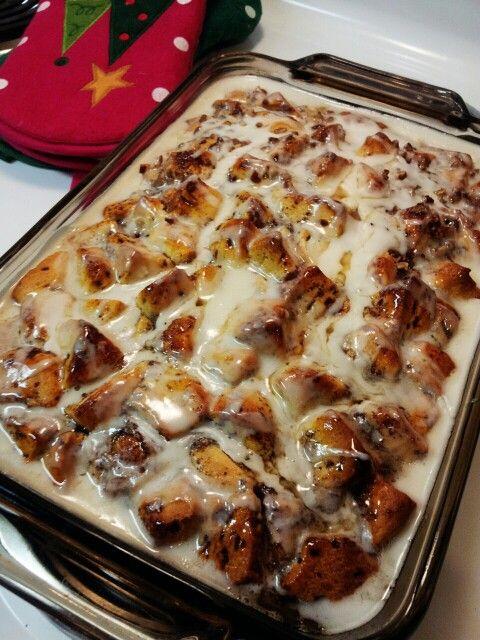 Cinnamon Roll Bake