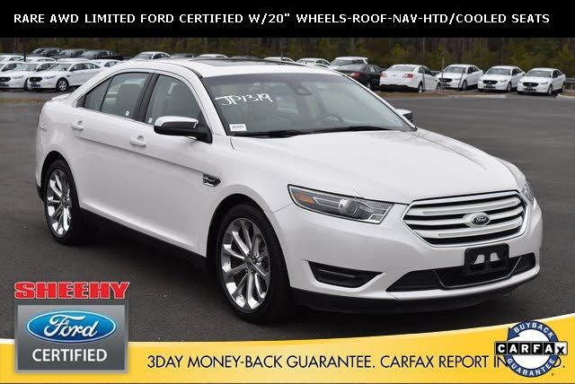 2017 Ford Taurus Limited Awd 21 995 Ford Ford Taurus Sho Awd
