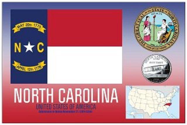 North Carolina - Vereinigte Staaten von Amerika / United States of America / USA
