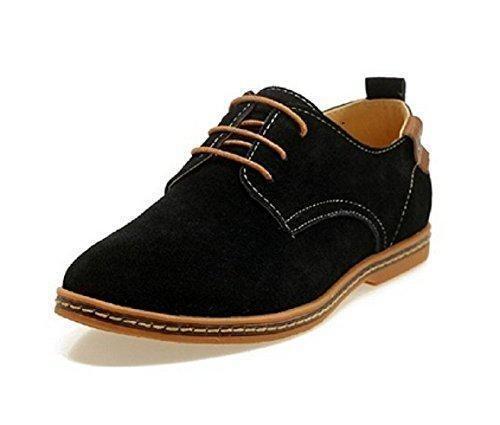 Oferta: 25.99€ Dto: -16%. Comprar Ofertas de Zapatos de Cordones de Estilo de Europeos para hombre, Zapatillas de Gamuza de Estilo Europeo Oxdords, Zapatos de Vestir Homb barato. ¡Mira las ofertas!