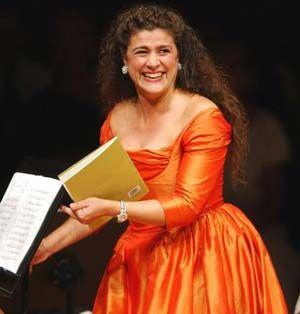 Cecilia Bartoli, Italian Coloratura Mezzo-Soprano Opera Singer (3.5 octave range)