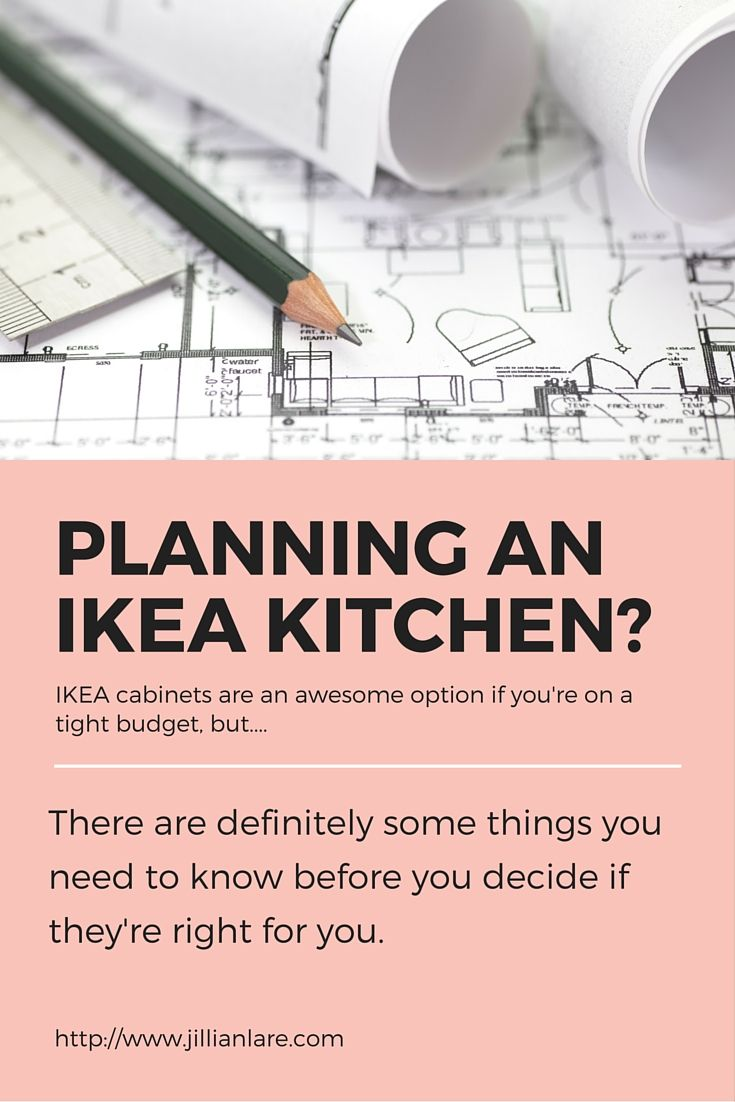 IKEA cabinets are a fantastic option for anyone remodeling their kitchen on a budget. Find out what you must know before deciding if they're right for you. via @jillianfrances
