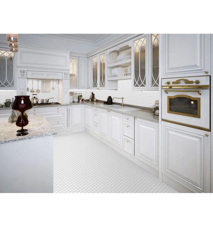 Mini cegiełka biała, szkliwiona - płytki ceramiczne/mozaika| sklep RawDecor.pl