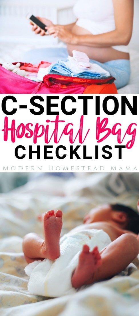 C-Section Hospital Bag Checklist: Preparing For A ...