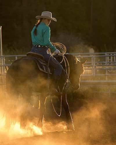 Ropes and the reins, the joys and the pain, and they call the thing rodeo. #senior #horse #cowgirl